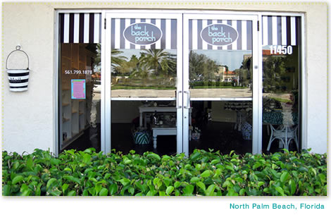 The Back Porch Store, North Palm Beach, Florida